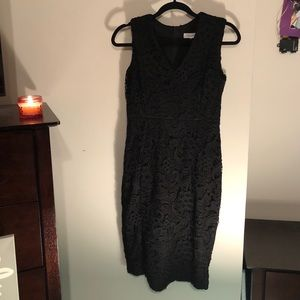Calvin Klein black dress size 4